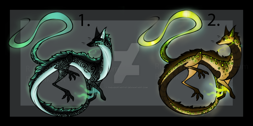 Spitfire dragon adopts [0/2] [CLOSED] by TheAdoptArtist