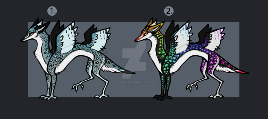 Avelpes Dragon Auction [2/2] [OPEN] by TheAdoptArtist