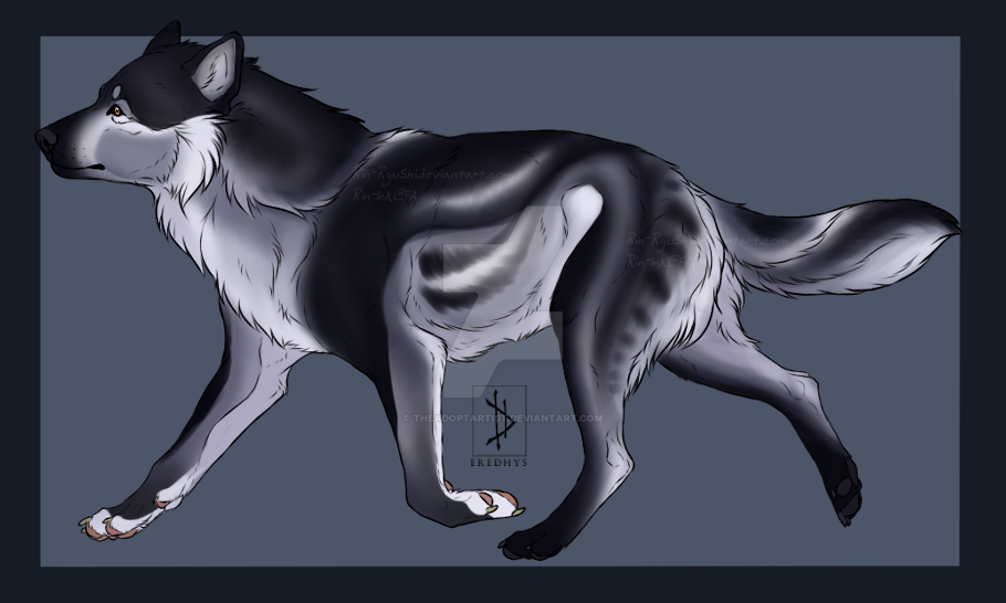 Wolf Design auction [CLOSED] by TheAdoptArtist