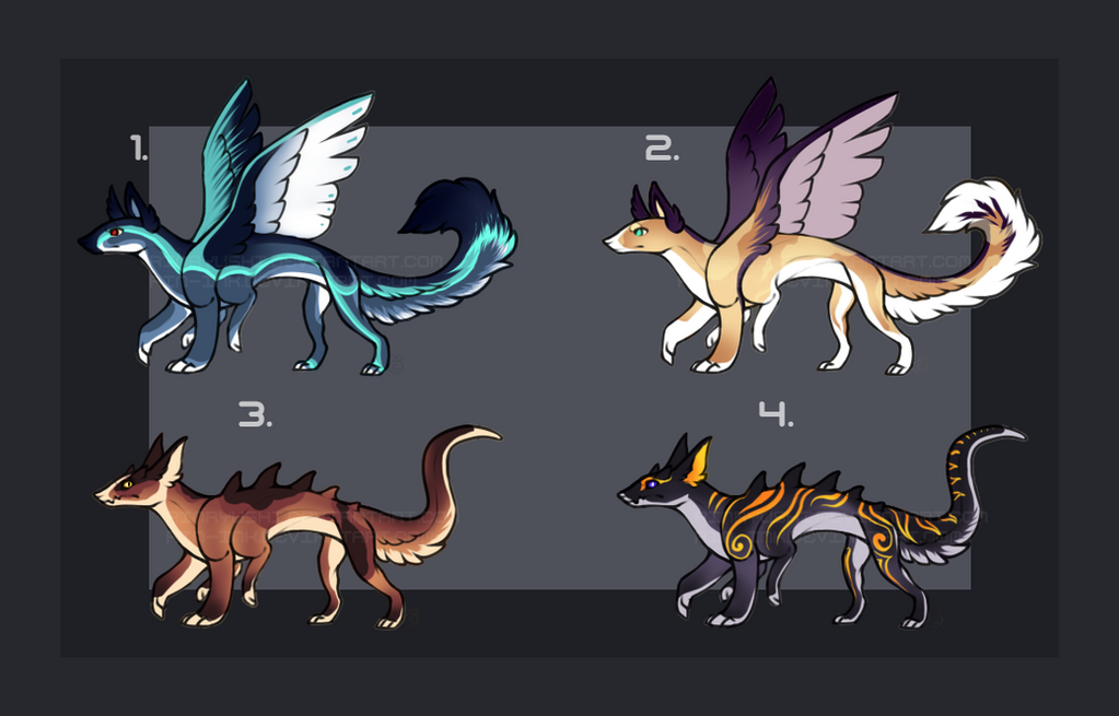 Monster/Creature/hybrid Design Auction [2/4][OPEN] by TheAdoptArtist