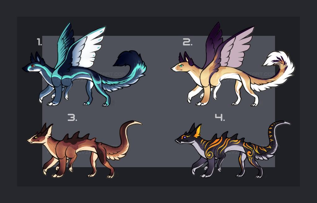 Monster/Creature/hybrid Design Auction [2/4][OPEN] by TheAdoptArtist