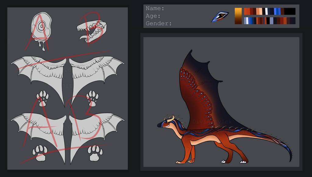 Dragon Design Auction [OPEN] [no.2] by TheAdoptArtist