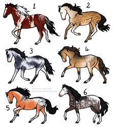 25 point horse adopts [4/6][OPEN]