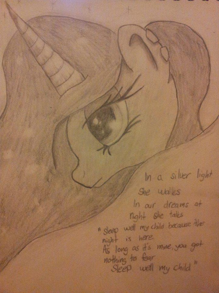 Princess Luna by DragonTina