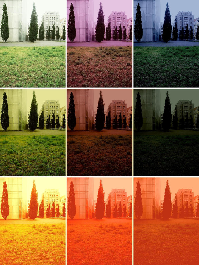 Nine Fields of Art by untermbettheuer