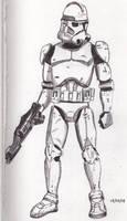 Star Wars Clone Trooper by Tullen666