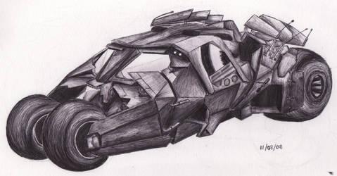 Batmobile by Tullen666