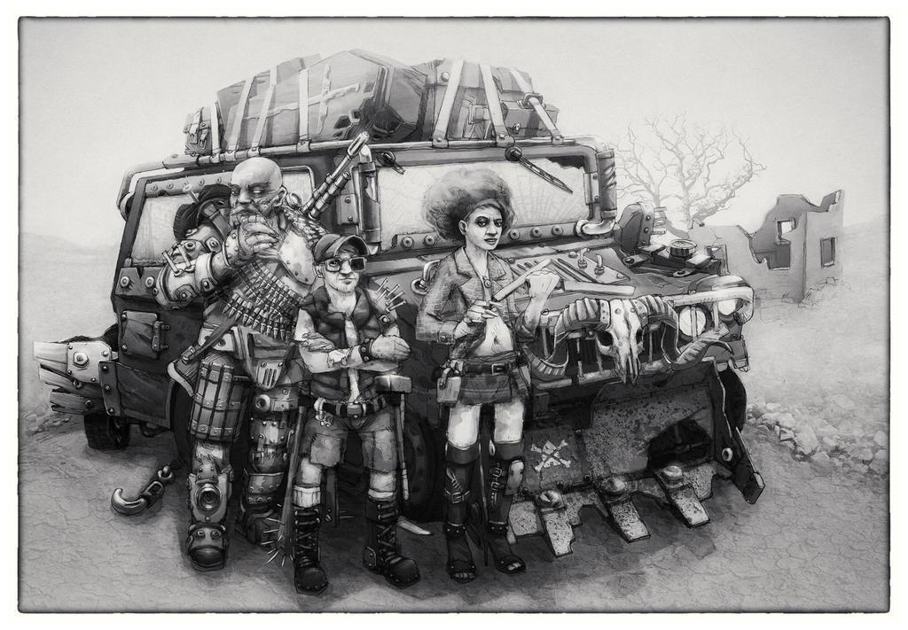 caravan by frattozero
