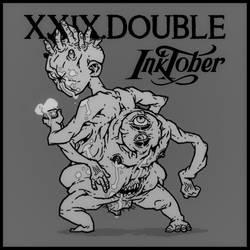 inktober.24 // DOUBLE