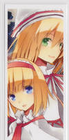 TouHou BookMark - Alice + Lily