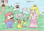 Drawgust 27 - Mario-Chu