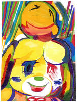 Corrupted Isabelle by TAT3XD