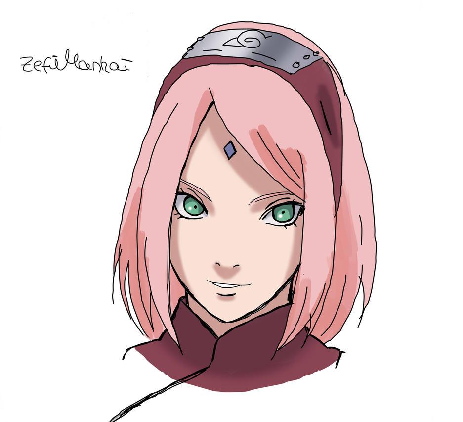 Sakura Haruno By ZefiMankai On DeviantArt