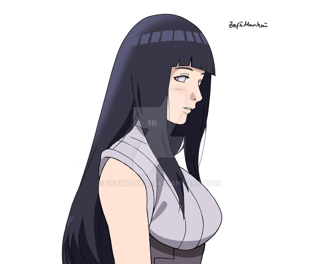 Hinata the last by ZefiMankai on DeviantArt