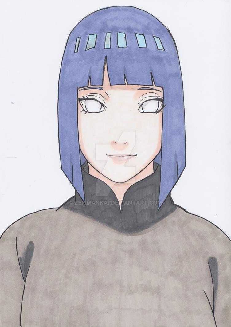 Hinata Hyuga by ZefiMankai