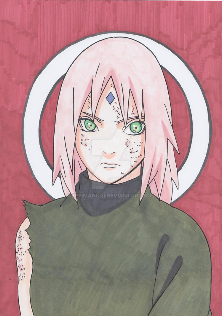 Sakura Haruno by ZefiMankai
