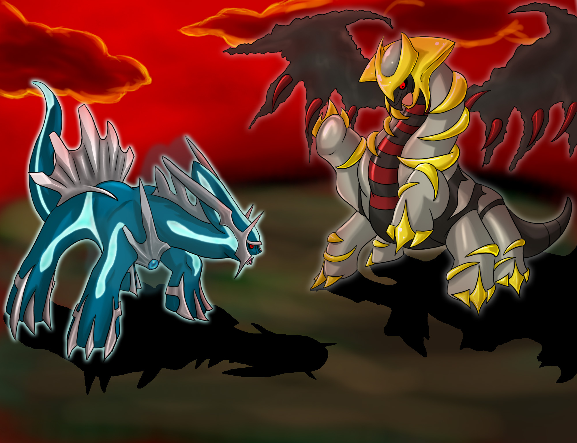 dialga palkia giratina arceus - photo #18