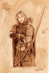 Faramir, in coffee by Adnaurian