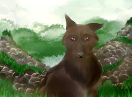 Sketch of Rysk w/Background
