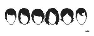 Alex Turner's hair through the eras