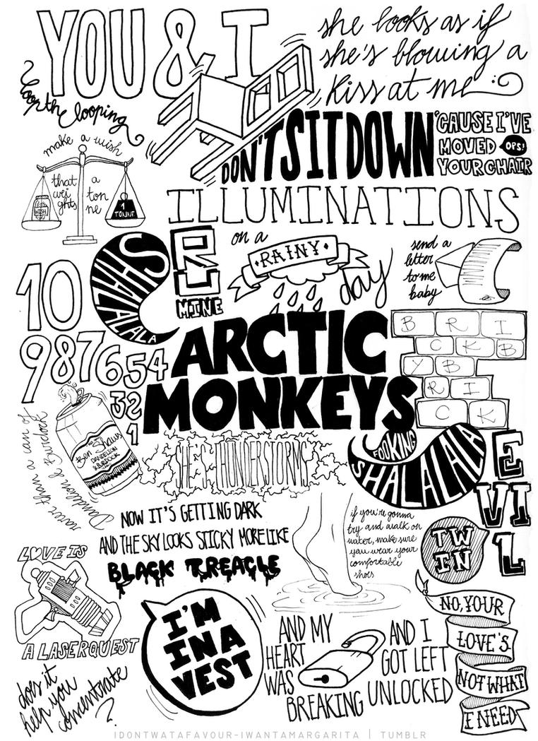Arctic Monkeys Suck It And See Lyrics Compilation by immbc ...