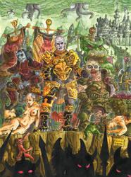 Lords Of Darks Gods by HKYUGOK