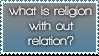 Religion stamp by WarmRainx