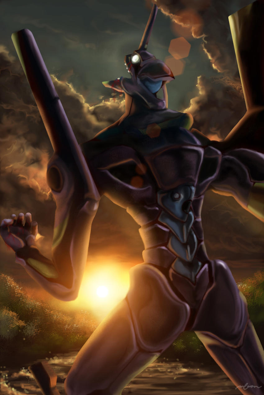 EVA 01: Zankokuna Tenshi by mickyoko