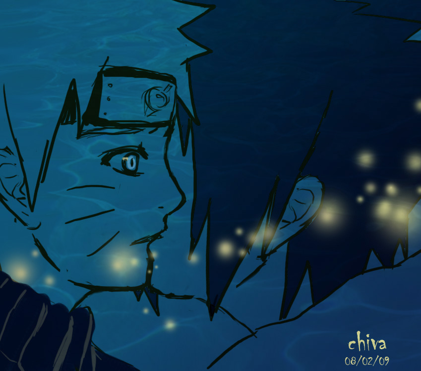 Deep in Blue by chivako