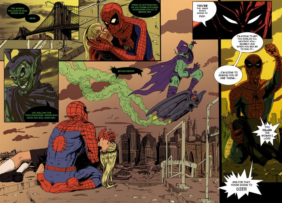 Spider-man Death of Gwen Stacy by AnnaMariaBryant on ...
