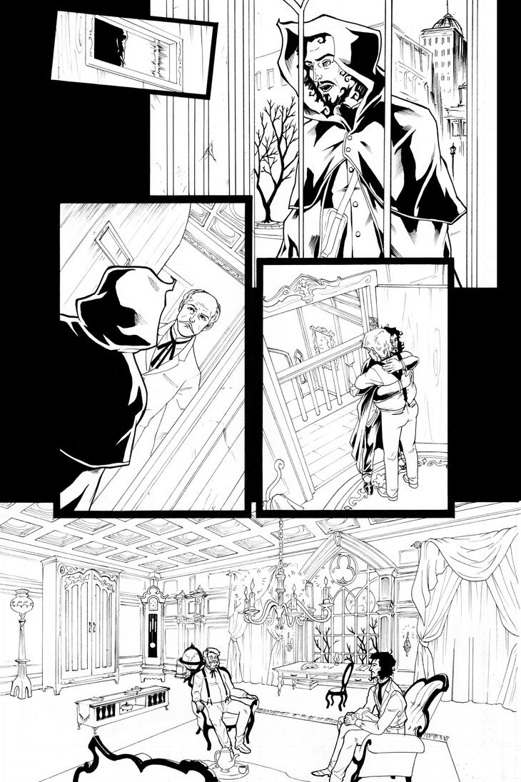 The Fraternity- Issue 2, page 2 by AnnaMariaBryant
