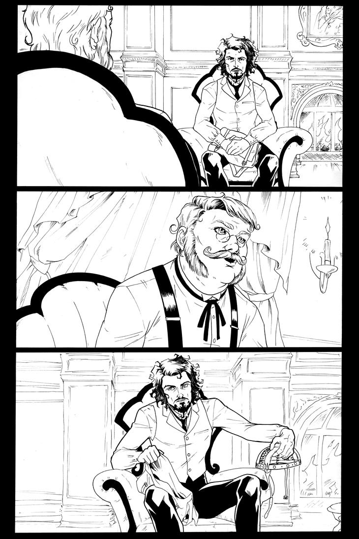 The Fraternity- Issue 2, page 3 by AnnaMariaBryant