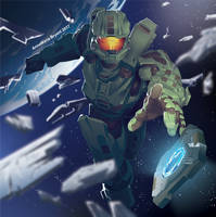 Halo Poster 1 by AnnaMariaBryant
