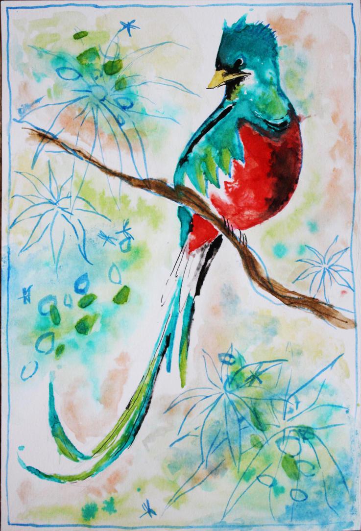 Quetzal by misato-chan94