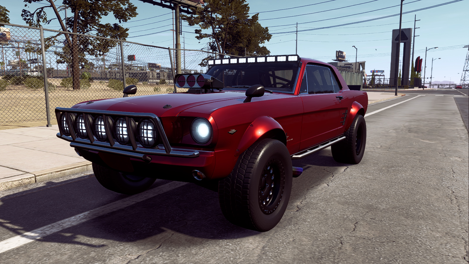 1965 Ford Mustang Offroad Superbuild Nfs Payback By