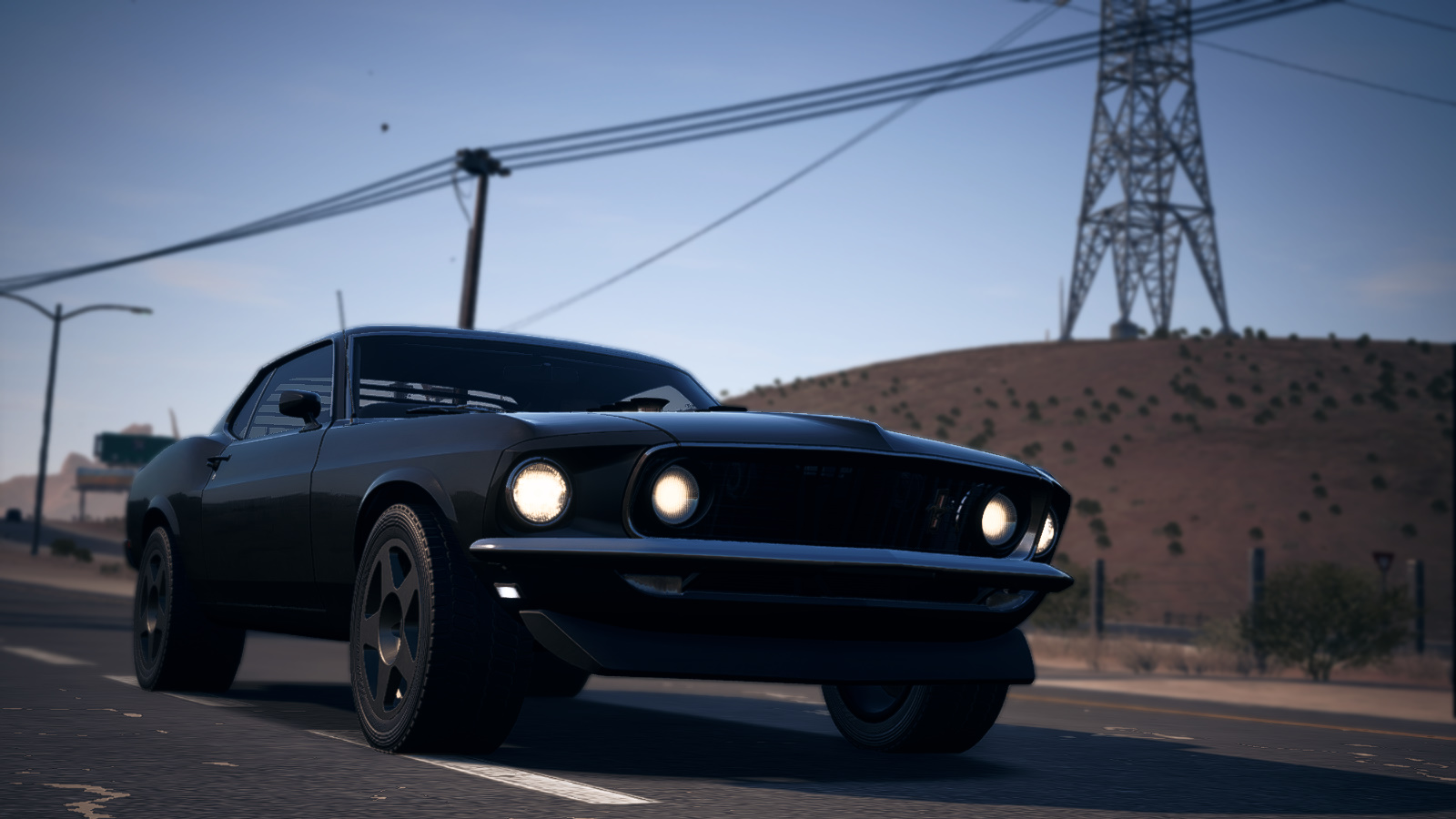 1969 Ford Mustang Boss 302 Offroad Nfs Payback By