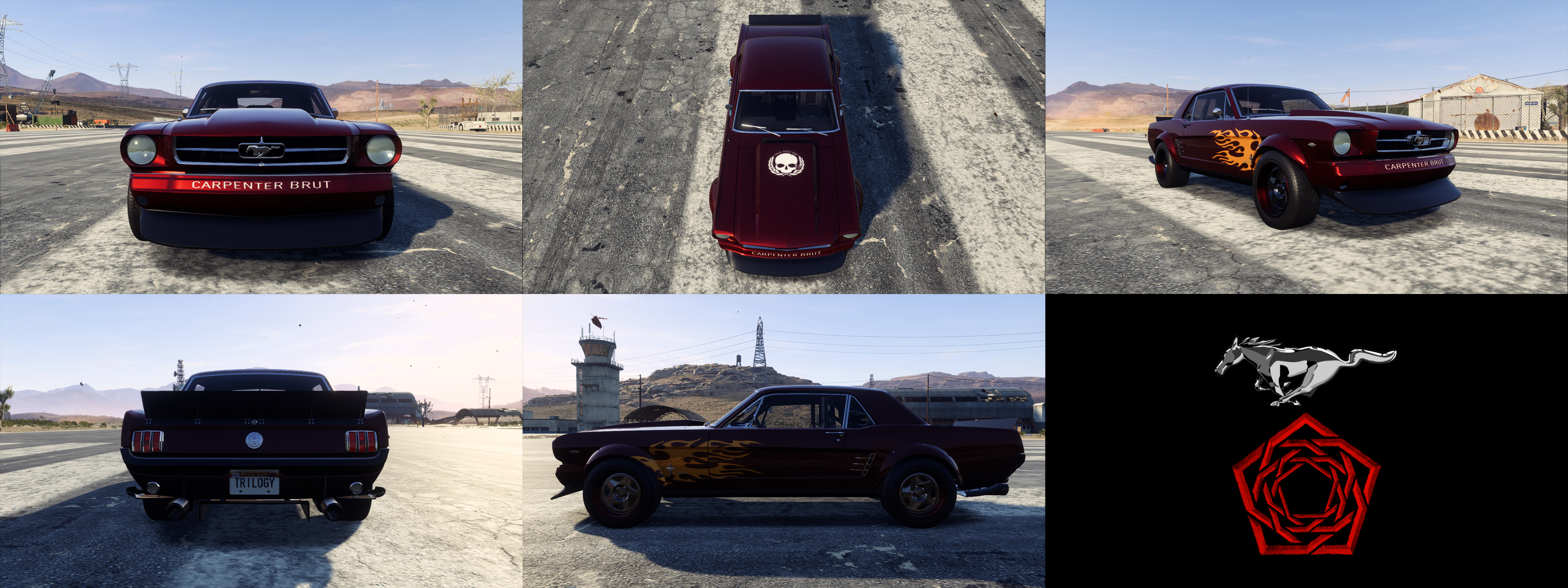 1965 Ford Mustang - Carpenter Brut (NFS: Payback) by