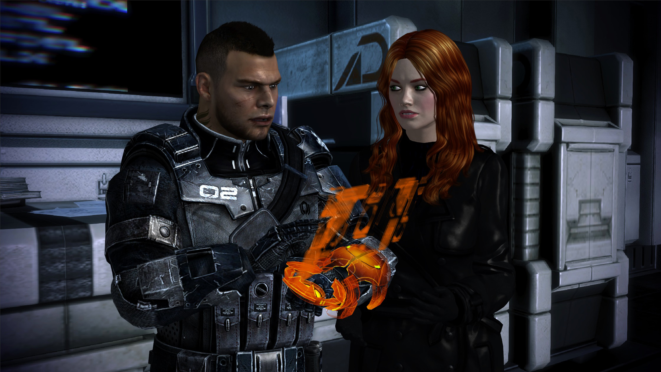Kelly Chambers On Mass-Effect-Ladies
