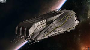 CSV Bismarck by GothicGamerXIV