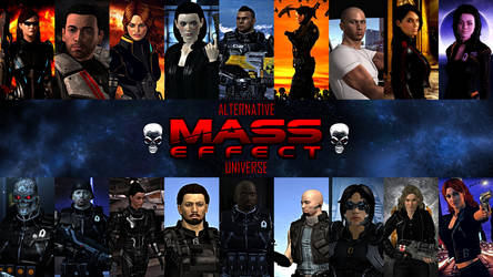 Alternative Mass Effect Universe by GothicGamerXIV