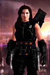 Caroline Kane (Mass Effect: Confrontation [TBA]) by GothicGamerXIV