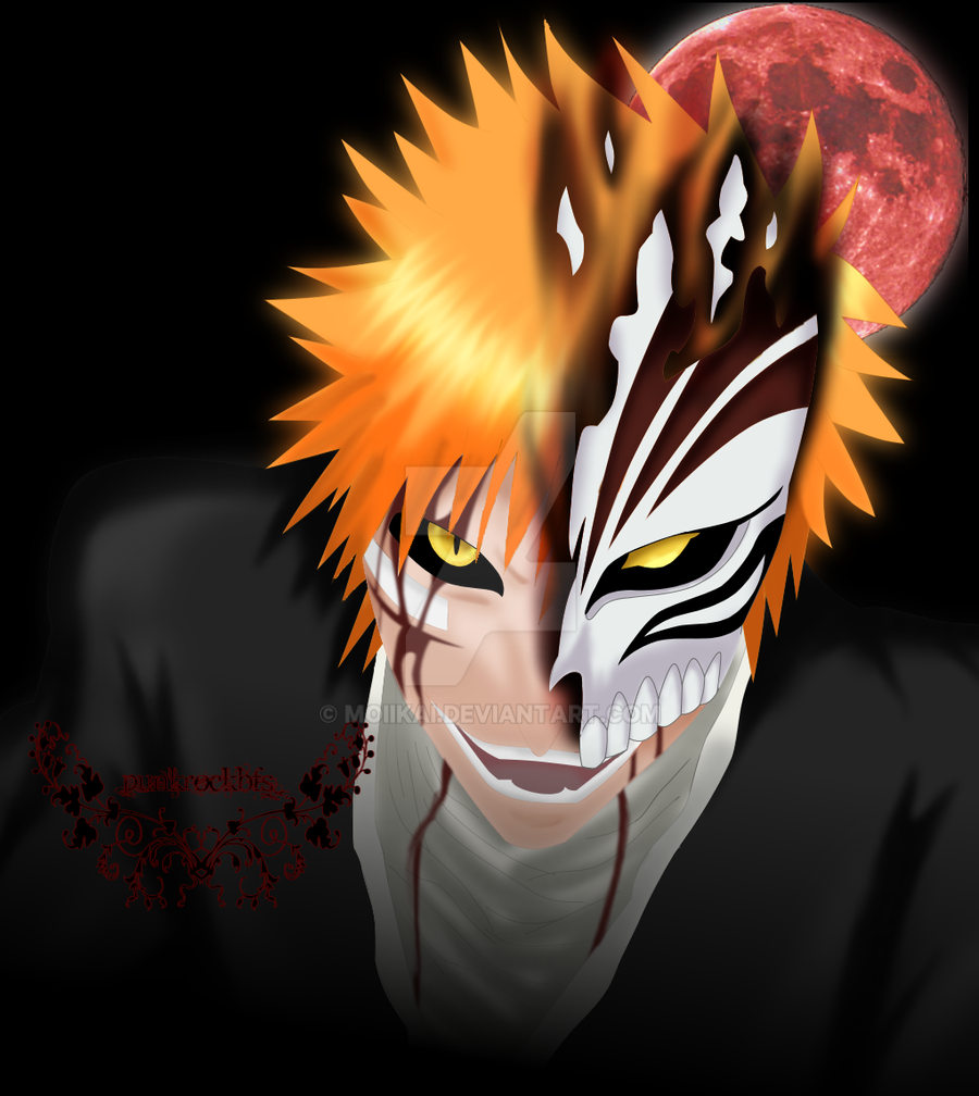 Hollow Ichigo By Moiikai On DeviantArt