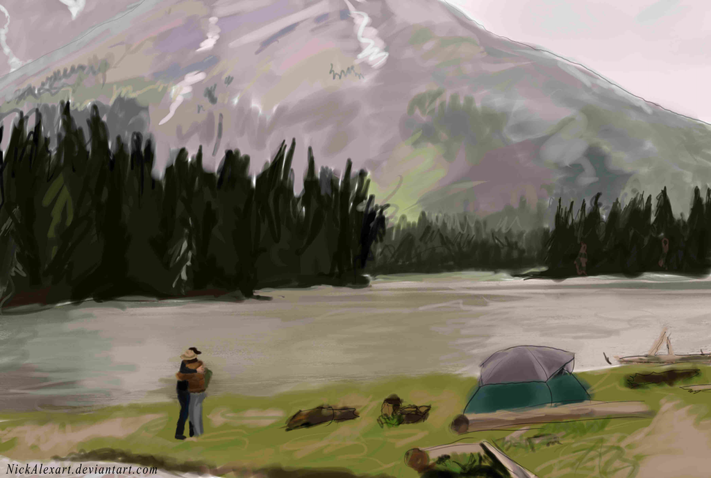 Brokeback Mountain by NickAlexart