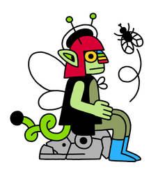 little green bug by erin-harrison