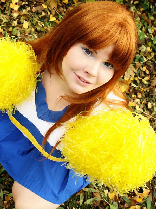 Mikuru cheerleader by BellaHime