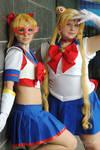 Sailor Moon and V