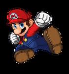 Mario Smash Ultimate Pixel Art SSF2 Style