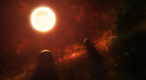 In a solar system far, far away.
