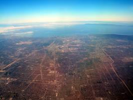 L.A. cityscape by Marivel87