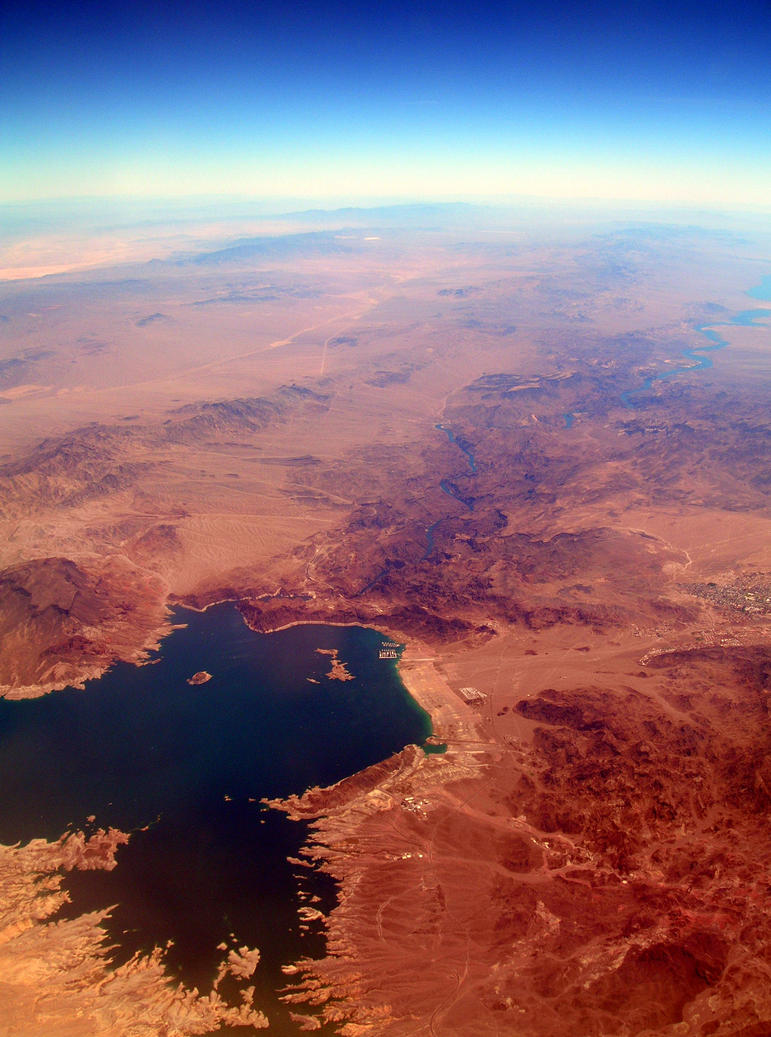 Nevada: Lake Mead by Marivel87